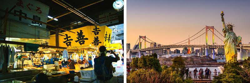 Tsukiji Market - Odaiba