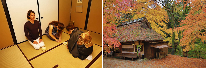 tea ceremony in kyoto and nara