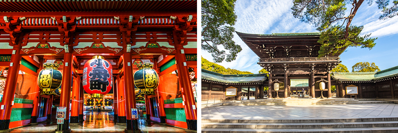 Asakusa Kannon Temple - Meiji Shrine