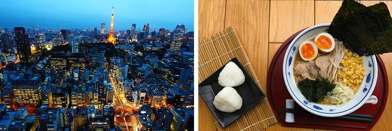 Tokyo Landscape - Ramen
